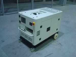 China Soundproof 10kva Small Portable Diesel Generator Open Type With Intelligent Panel on sale
