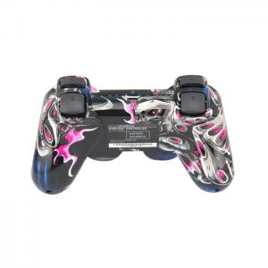 Quality Double Vibration Playstation Game Controller PS3 Bluetooth Wireless Gamepad for sale