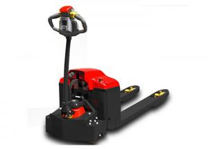 China 48V Hydraulic Power Equipment , Electric High Lift Pallet Truck DC Rechargeable on sale