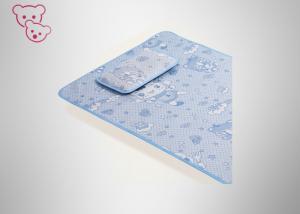 China Medium Thickness Nursery Bedding Sets , Baby Crib Sets Silk Mat 3D Net Surface on sale