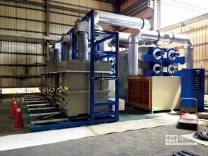 China Low Noise Circulation Of Sludge Dryer Machine Integrated Design Small Footprint on sale