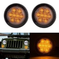 Clear Lens Front Car Turn Signal Lights , IP68 Led Turn Signal Lights For Trucks