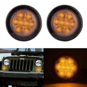 China Clear Lens Front Car Turn Signal Lights , IP68 Led Turn Signal Lights For Trucks on sale