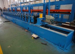 China Metal Steel Fireproof Roller Shutter Door Roll Forming Machine 10 - 20m/min Speed on sale