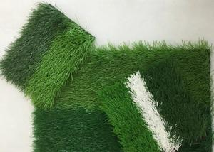 China PE Material Stadium Outdoor Football Synthetic Grass on sale