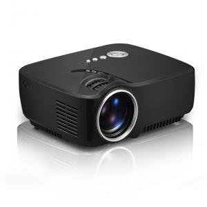 Quality implebeamer GP70 Portable mini led projector 1200 lumens,support 1080P for home for sale