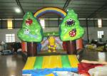 Indoor Playground Custom Made Inflatables Digital Printing Safe Nontoxic 5.5 X 6 X 4m