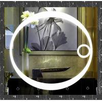Round Lighted Mirror with magnify feature