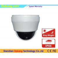 Ceiling Mount Smart IP PTZ Speed Dome Camera With 10X Optical Zoom