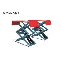 Hydraulic Cylinder Scissor Hoist / Scissor Lift Mechanism Design / Car Lift