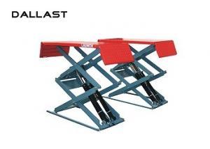 China Hydraulic Cylinder Scissor Hoist / Scissor Lift Mechanism Design / Car Lift on sale