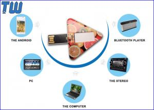 China Regular Triangle 128GB Pendrives Memory Card Digital Color Printing on sale