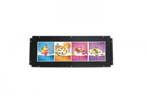 China 8 Bit 16.7M Color Commercial LCD Display / Bar LCD Monitor Open Frame 15 Inch For Public Access Venues on sale
