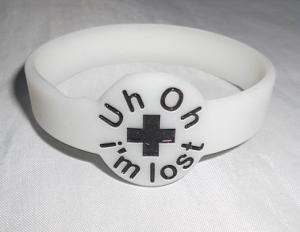 China Eco-friendly promotional child gps tracker silicon bracelet on sale