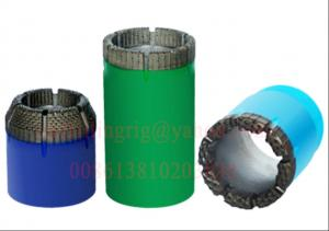 China Natural Diamond Diamond Core Bits with Fast Penetration Rate NMLC / HMLC Size on sale