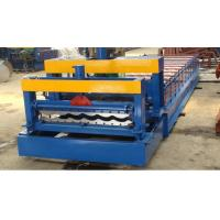 Glazed Steel Plate Rolling Machine, Metal Step Tile Roll Making Machine