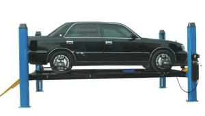 China Hydraulic four post car lift on sale
