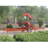 China Electrical Portable Horizontal Band Sawmill on sale