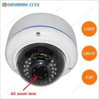 HD 1080P Waterproof Zoom IR Dome IP Camera P2P Plug and Play