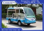 900KG Small Electric Cargo Van Airport Luggage Cart 5 Seats With CE Certificate electric freight car with roof