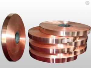 China copper foil strip for CCL, electronics shielding and heat radiation, on sale