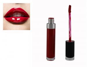 China Custom Lip Makeup Products 24 Hours Liquid Lip Gloss Red Color 8ml Volume on sale