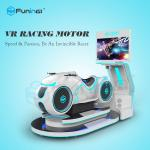 220V 0.7KW Multiplayers Motorcycle Driving VR Game Machine For VR Theme Park