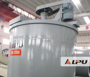 China Stainless Steel Agitation Leaching Tank / Agitator Effective Volume 11m³ Ore Dressing Plant on sale