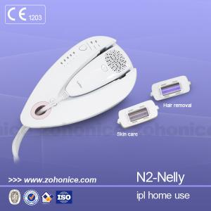 China Two Lamps  Mini Laser IPL Machine Big Spot Size For Home and personal Use supplier
