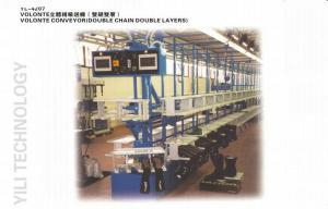 China 7,0 transporte automático da sapata de couro de m VOLONTE com correntes dobro on sale