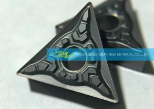 China CNC Carbide Turning Inserts For Stainless Steel Finishing Triangle Carbide Inserts on sale