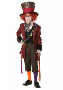 China Alice In Wonderland Teen Boy Halloween Costumes For Christmas Party on sale