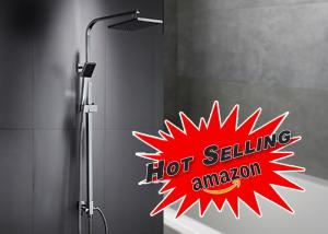 China Wall Mounted Shower System Kit ROVATE Floor Stand Faucets Featuring ROVATE on sale