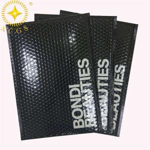 China Custom Shinny Aluminum Foil Bubble Bag Material Metallized Bubble Envelopes on sale