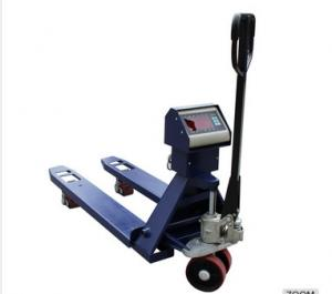 China 3t Capacity Large Industrial Pallet Truck Weighing Scales For Warehouse / Workshop on sale