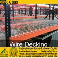 China Wire Mesh Decks , Wire Mesh Decking for Racks, Racks wire decks , Galvanized wire mesh decks, steel wire mesh decking on sale