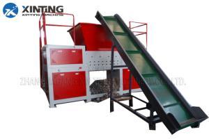 China 3-8mm Output Size Single Shaft Shredder Waste Recycling Plastic Crusher Machine on sale