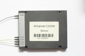 China High Channel Isolation 4/8Ch Mux/Demux CWDM Card DWDM fiber optical multiplexer passive components on sale