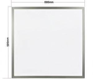 China 600x600 Ultra Thin LED Recessed Light / LED Panel Light 2x2 5 Years Warranty on sale