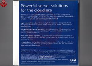 China Microsoft Windows Server 2016 Standard Edition Windows Server Core Functionality on sale