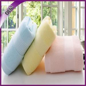 China 2015 hot china supplier professional comfortable antibacterial fiber bamboo bath towel on sale