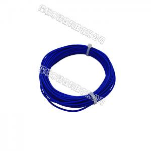 China AL-63 Synthetic Fiber Rope Blue Color For Workbench / Production Line / Logistic Rack on sale