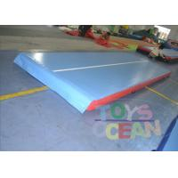 Airtight Inflatable Air Track For Tumbling / Safe Inflatable Air Mat