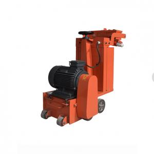 China 7.5KW Hand Pushed Concrete Scarifier Machine With Electric Motor Driven on sale