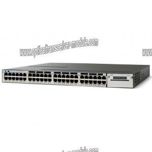 China 十分に管理された繊維光学のネットワーク スイッチ カスタマイズされた CISCO WS-C3750X-48P-L on sale