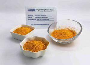 China Medical Curcumin Extract Powder / Turmeric Supplement Powder Anti Oxidation on sale