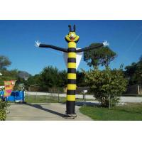 Dancing Bee Custom Advertising Inflatables Waterproof For Promotion Event