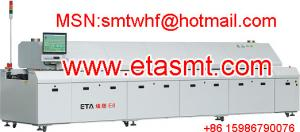 China Automatic lead-free reflow soldering oven on sale