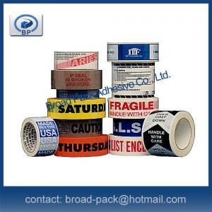China Printed OPP Packing Tape on sale