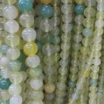grape agate  round beads